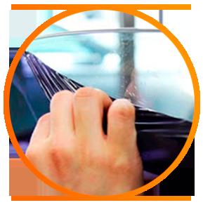 Подготовка плёнки к нанесению на стекло